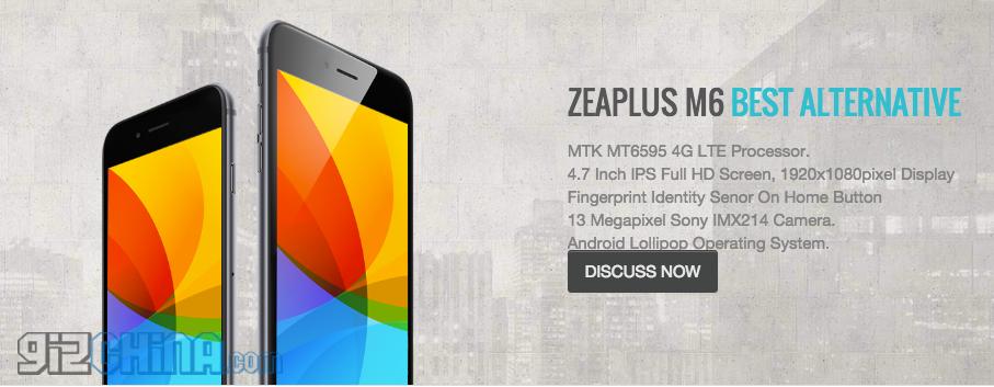 zeaplus mt6595 phone