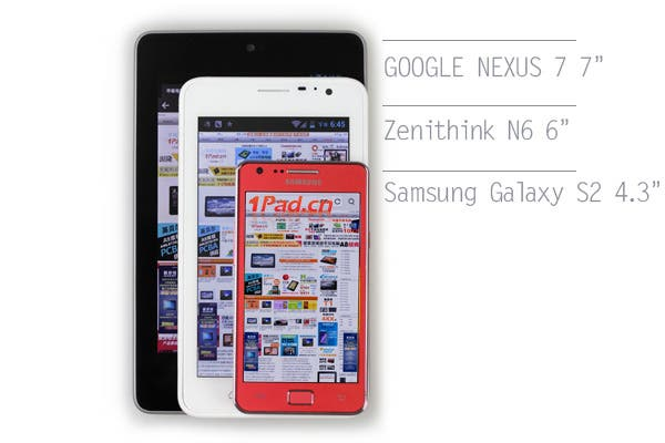 zenithink n6 chinese low cost phablet