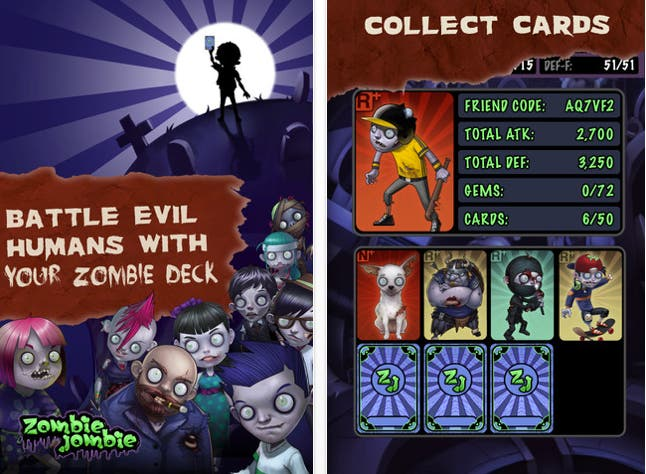 download zombie jombie free iphone game