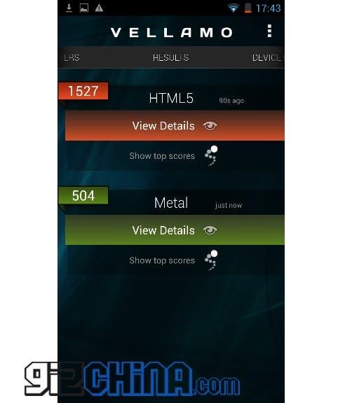 zopo c2 platinum vellamo Zopo C2 Platinum (MT6589T) Review