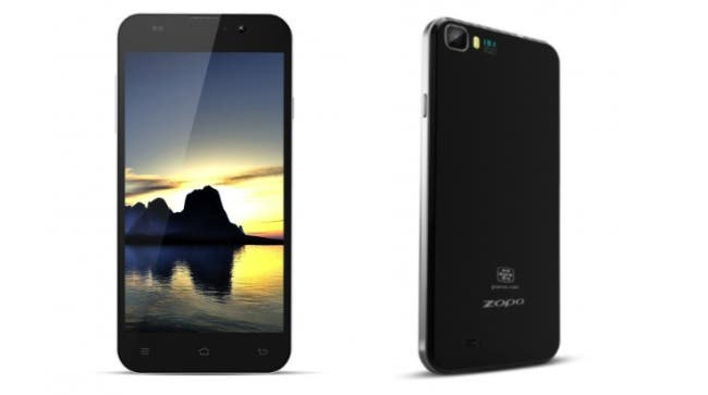 Zopo ZP980 5-inch 1080 phone hands on video