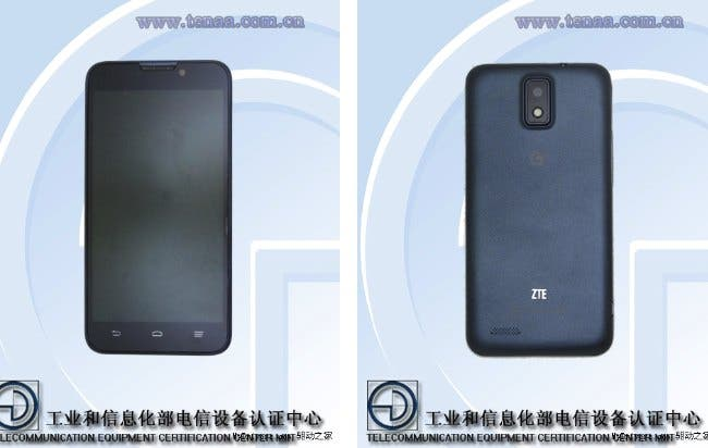 zte u935 5-inch phone spotted in China